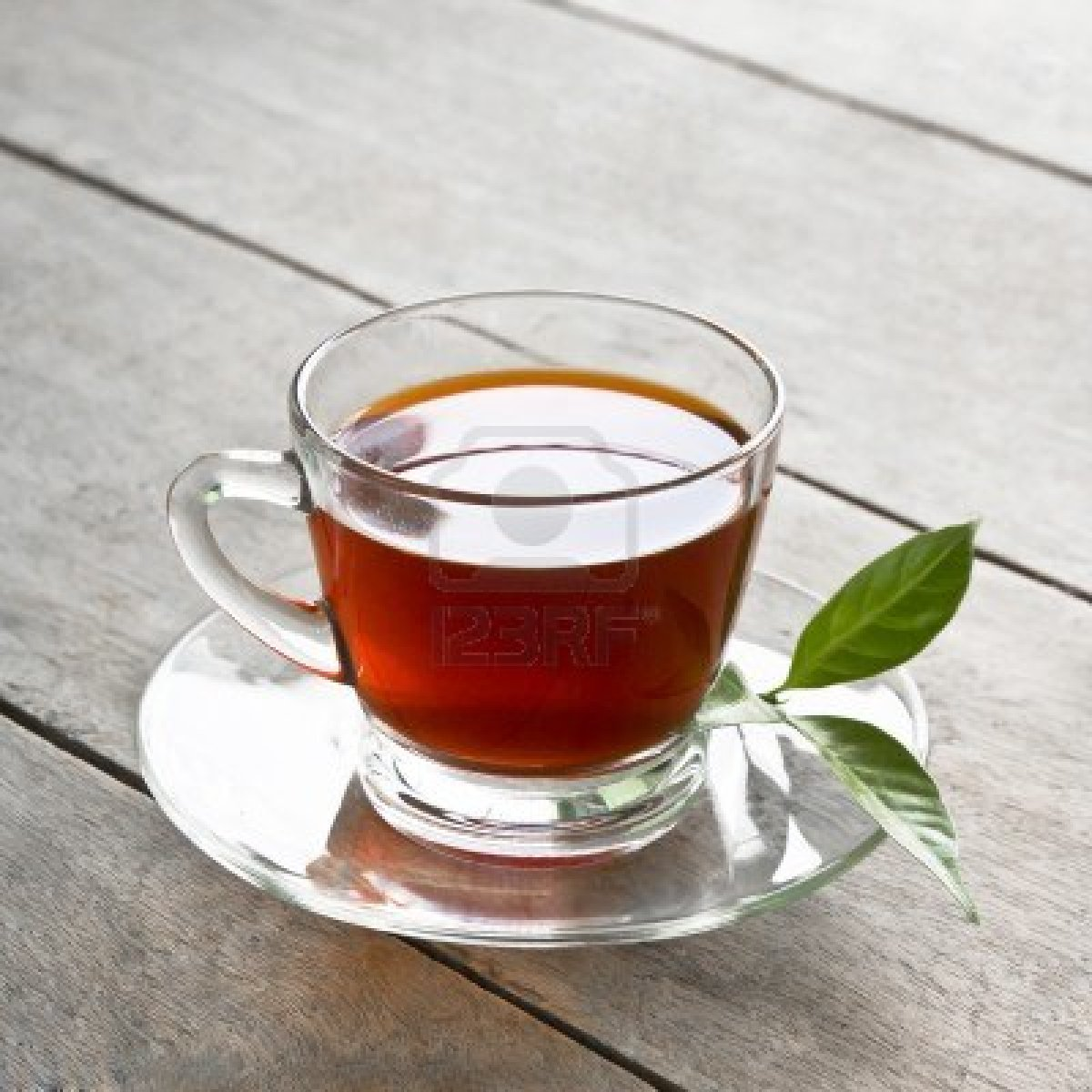 15548950-a-cup-of-tea-on-wood-board-drink-for-health